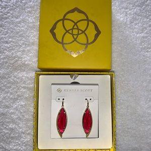 Kendra Scott Gold Berry 'Maxwell' drop Earrings